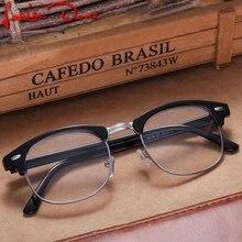 f2457d2409bdd Armações de óculos mulheres homens óculos óculos de lentes opticos hombre  de grau masculino geek gafas redondo bayan gozluk erke.