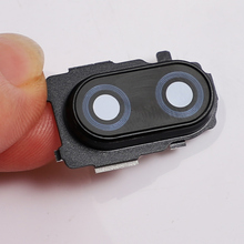 Note7 для Xiaomi Redmi note 7 объектив камеры стекло задняя крышка с металлической рамкой держатель Замена запасных частей