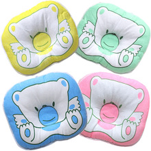 Baby anti-bias headrests,baby stereotypes pillows,velvet newborn Protection Comfortable Cotton Infant Bedding Sleeping Pillow