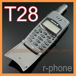 Image 1 - Refurbished Original  Ericsson T28 T28s Mobile cell Phone 2G GSM 900/1800 Unlocked Black & Cant use in USA