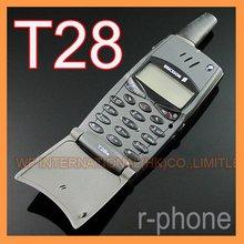 هاتف محمول إريكسون T28 T28s أصلي مجدد 2G GSM 900/1800 مفتوح أسود ولا يمكن استخدامه في الولايات المتحدة الأمريكية