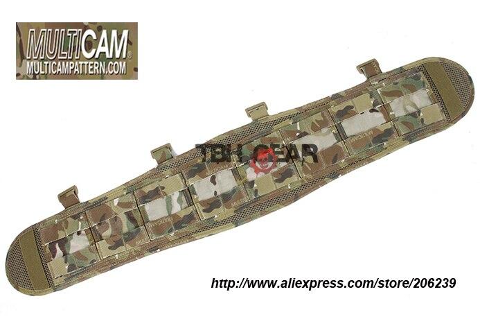 TMC VC Style Brokos Belt Pad Genuine Multicam MOLLE Battle Belt Pad(SKU12050743) tmc vc style brokos belt genuine multicam padded molle battle belt free shipping sku12050743