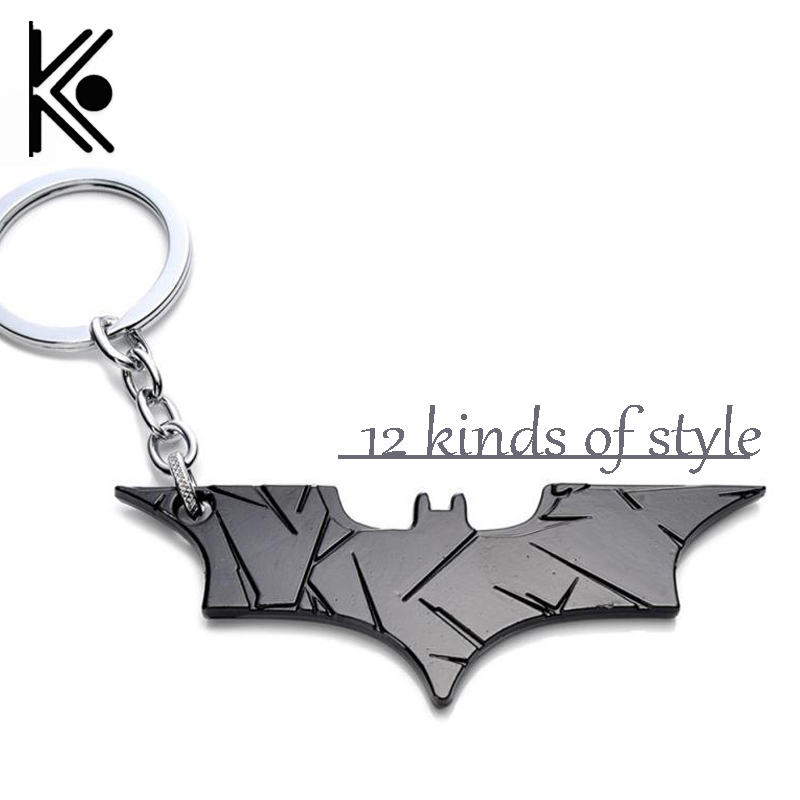 12 style DC jewelry Superhero Batman Keychain Batman bottle opener pendant Superman key chain Comic Figure Accessories Key Rings цена