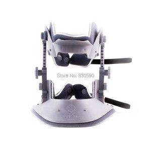 Image 2 - Fourth Generation genuine Schubert Cervical traction device household cervical traction device neck Head massager free shipping