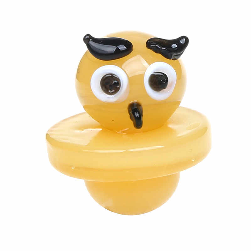 Курить Dogo стекло Carb Кепка шляпа шапка для теплового кварца Banger ногтей Enail Carb Кепка для стеклянный Бонг