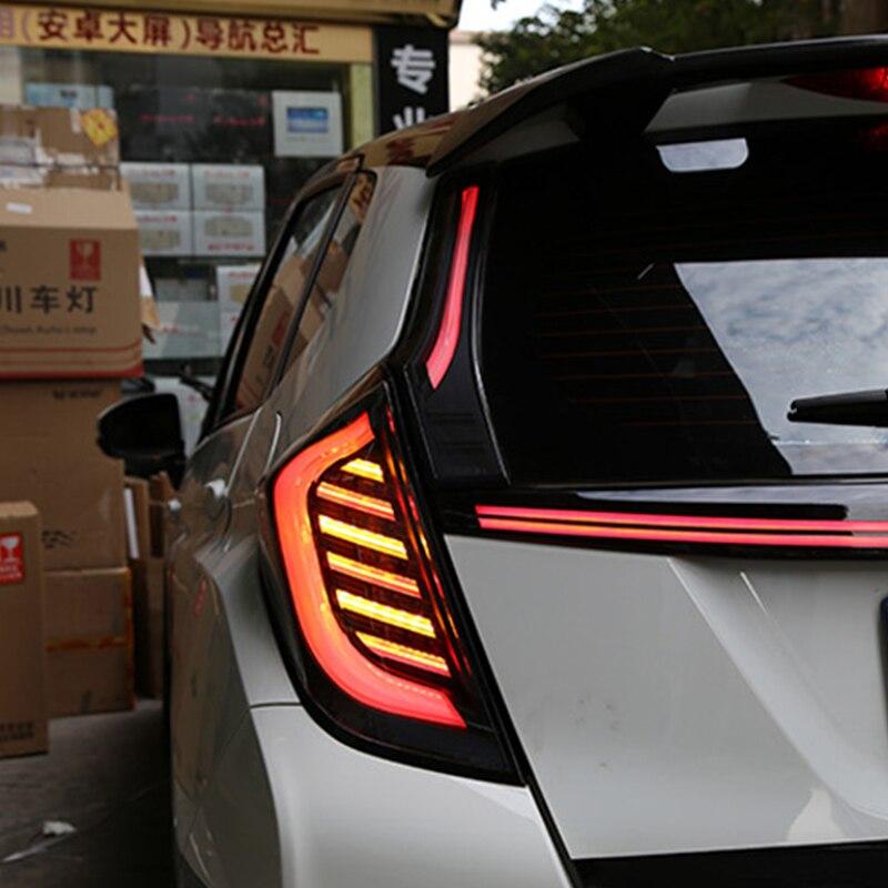 Rear Fog Lamp Brake Light Reverse Light Turn Signal Light Car LED Tail Light Taillight For