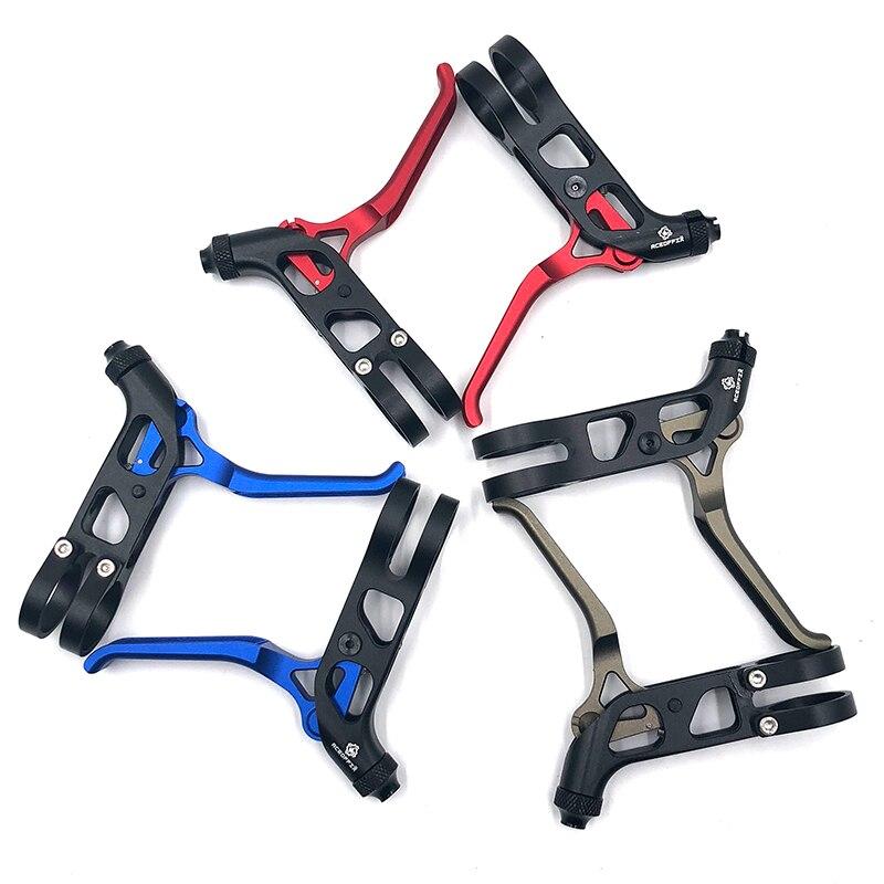AGEKEUSL ultraléger Pro levier de frein de vélo pour Brompton vélo pliant V frein CNC vélo de route pièces accessoires 1 paire