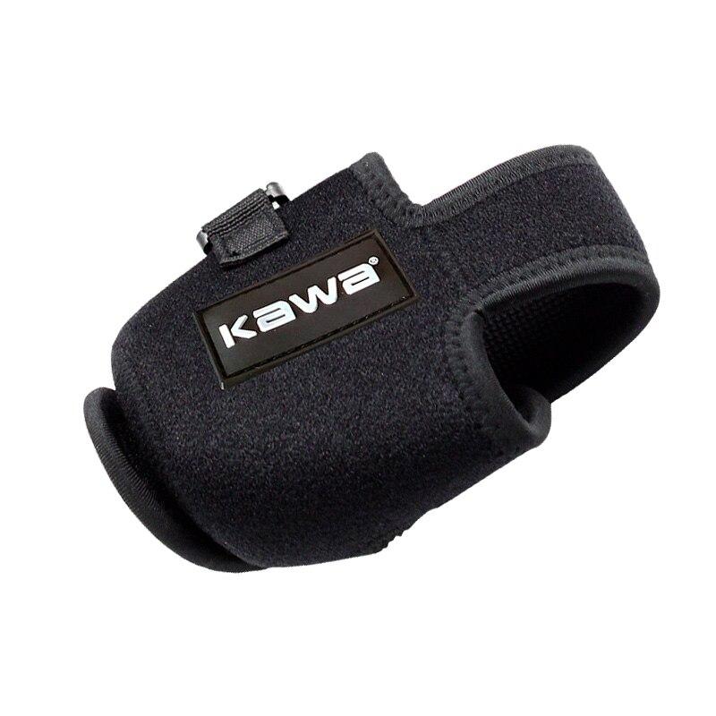 Kawa Fishing bait reel bag 7cm * 6// 8.5cm Protector cover Casting reel Fishing Reel outdoor sport Bags Carp fishing black bag