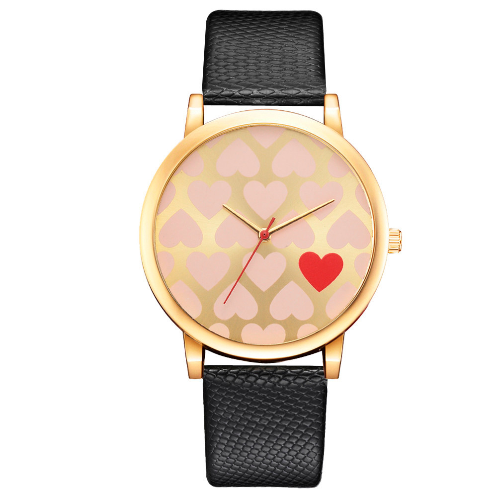 Women Watches Crystal Leather Quartz Wristwatch Fashion Dress Watch Ladies Gifts Clock Relogio Feminino 6 color