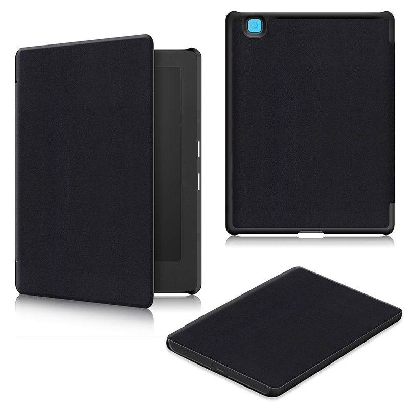 PU leather case for tablet Ereader Kobo Aura H2O Edition 2 stand slim cases plastic cover funda coque kryt etui kilif carcasaPU leather case for tablet Ereader Kobo Aura H2O Edition 2 stand slim cases plastic cover funda coque kryt etui kilif carcasa
