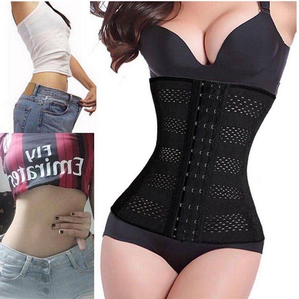 a8abf7cb5a1 AI CLOUD Body Weight Loss 4 Spiral Steel Boned Corsets Slim Waist Cincher  Shapers Underbust Corset Everyday Body Shaper-in Waist Cinchers from  Underwear ...