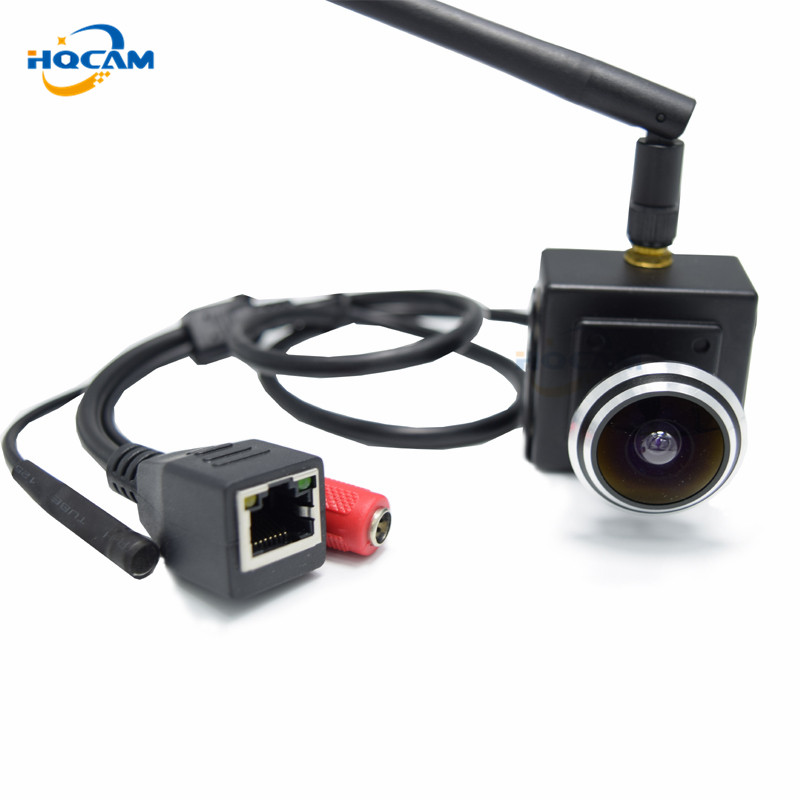 HQCAM 720P Wide Angle 1.78mm Fisheye Lens Audio wifi ip camera 1.0 MP Wireless camera Indoor Smallest Wifi Network Door Camera vintage 925 silver topaz drop earrings for party 5 mm 7 mm natural topaz silver earrings steriling silver topaz jewelry