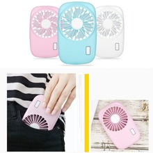 Mini Hand Held USB Fan Creative Camera Shape Rechargeable Summer Air Conditioner Cooling Fan for Outdoor Travel USB Gadgets