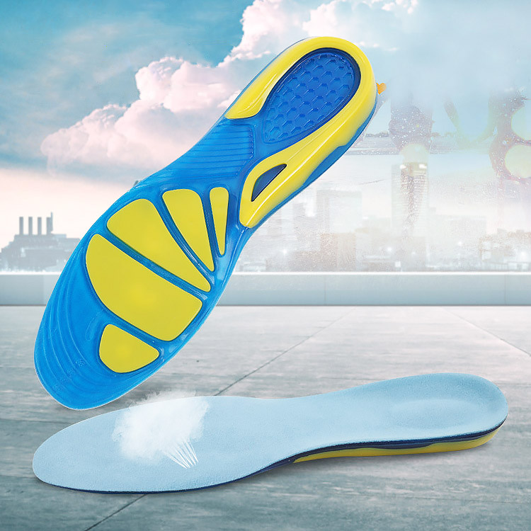 75824d204d Heel spur running sport Insoles shock absorption pads arch orthopedic insole  silicon Gel Insoles foot care for plantar fasciitis - aliexpress.com -  imall. ...