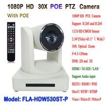 1080 P 60fps 30X оптический зум Visca & Pelco-D/P HDMI и SDI выход HD IP POE PTZ видео конференц-камера