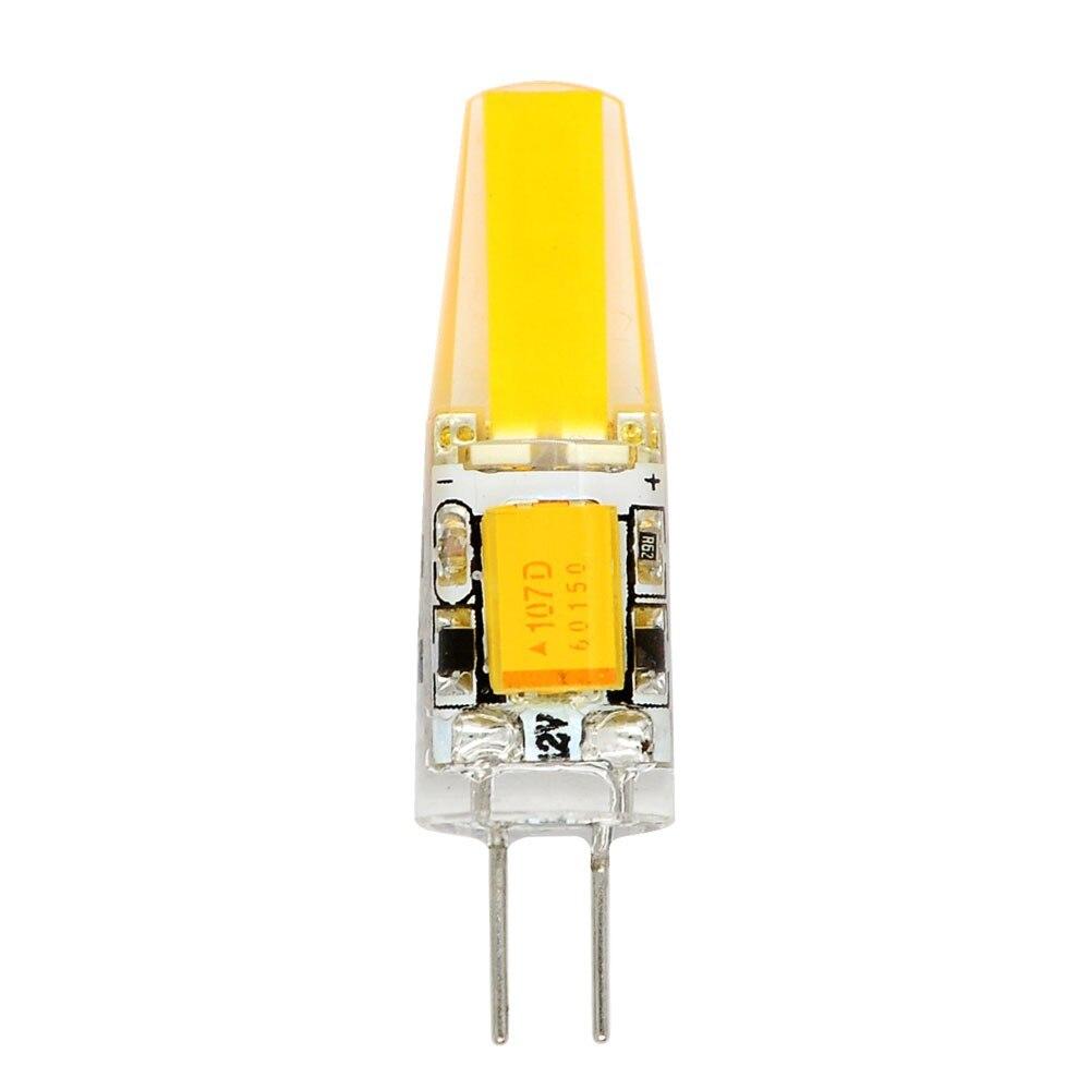 G4 Bi-Pin LED Light Bulb 2W (20W Equal) COB, Warm White 3000K, Non-dimmable, DC12 Volt, 360 Beam Angle,T3 JC G4 Bi-Pin Base