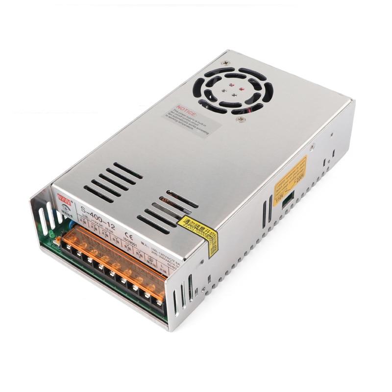 S-400-12 Switching Mode Power Supply 400W12V33A AC-DC Converter/inverter/voltage Input voltage AC200-240V nc dc dc dc adjustable voltage regulator module integrated voltage meter 8a voltage stabilized power supply