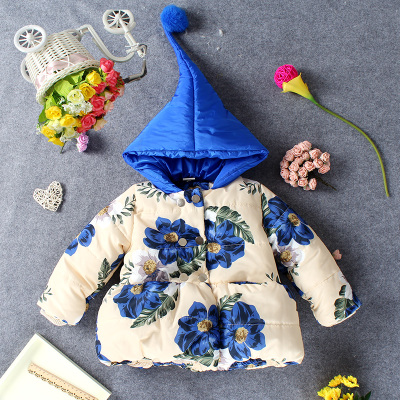 More infants and young children and children s wear winter girl lovely rabbit coat wool warm