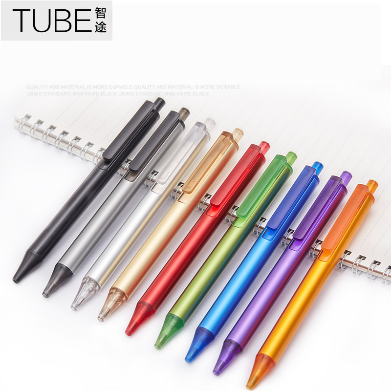 1PC KACO TUBE 0.5mm Black Ink Gel Pen 19 Colors for Choose Metal Roller Ball Pens Writing Stationery School and Office Supplies l ecume des jours