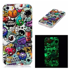 MuTouNiao 360 Protection Silicon Case For iPhone 5 5s 5se Noctilucent TPU Soft Silicon Back Case Cover For iPhone 5 5s SE Case