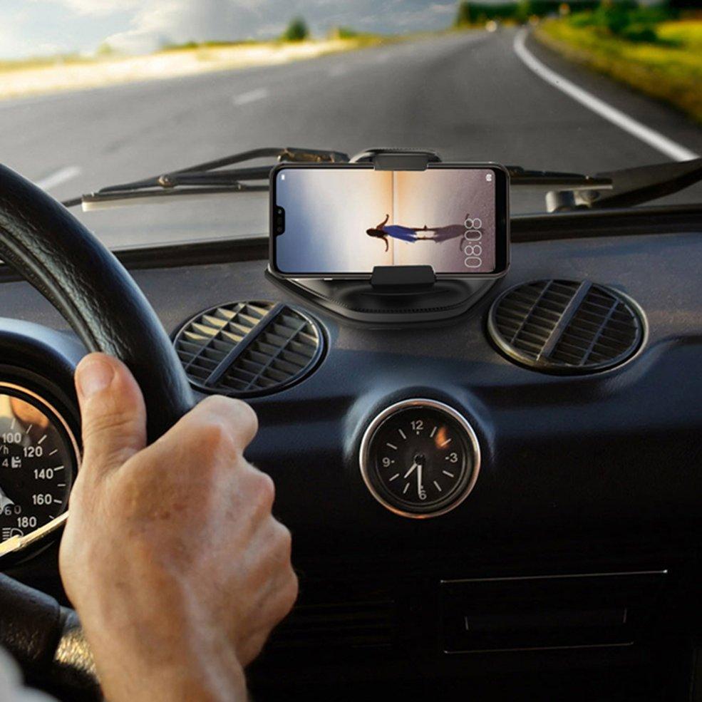 Image 2 - Tableau de bord universel réglable Support pour téléphone Mobile Support de Support Clip Support de montage pour smartphone tablette GPS 186-in Support universel pour voiture from Automobiles et Motos on AliExpress