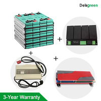 Complete set GBS LIFEPO4 Battery 24V 100AH and 8S Active Balance Module and 100A BMS and 24V 15A charger