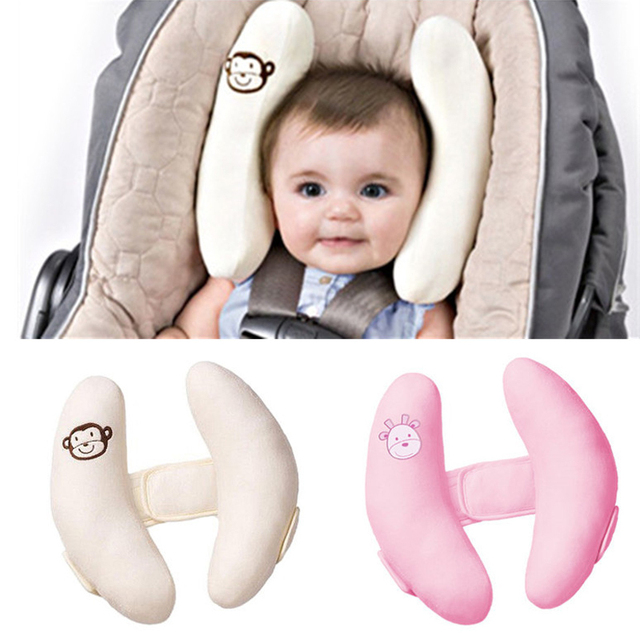 b6a2af2be 1pc Baby Stroller Pillows Infant Car Seat Neck and Head Protection ...