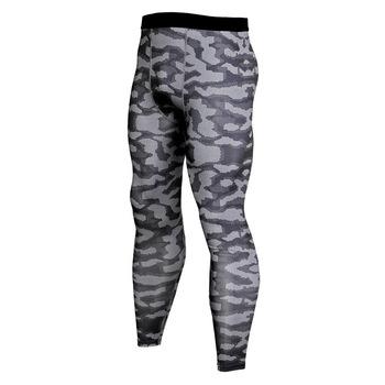 Męskie spodnie na co dzień spodnie kompresyjne męskie spodnie fitness kamuflaż męskie biegaczy męskie spodnie dresowe kulturystyka odzież męska tanie i dobre opinie Pełnej długości Elastyczny pas PATTERN Suknem Mieszkanie NoEnName_Null skinny 24-32 Poliester spandex Men gym crossfit cycling pants 8125