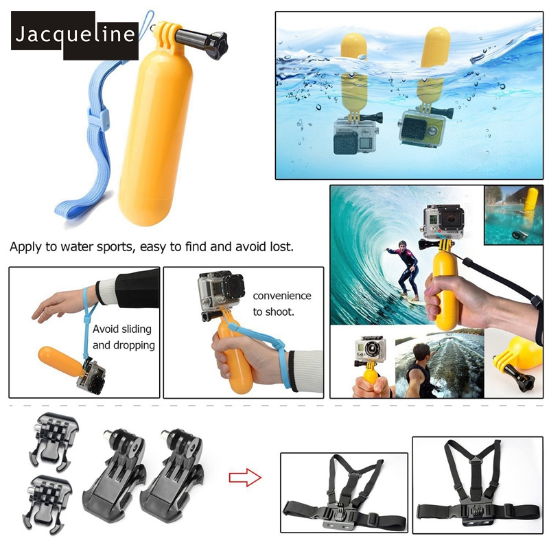 Jacqueline for Dog Accessories Set Kit de montage pour Gopro hero HD - Caméra et photo - Photo 6