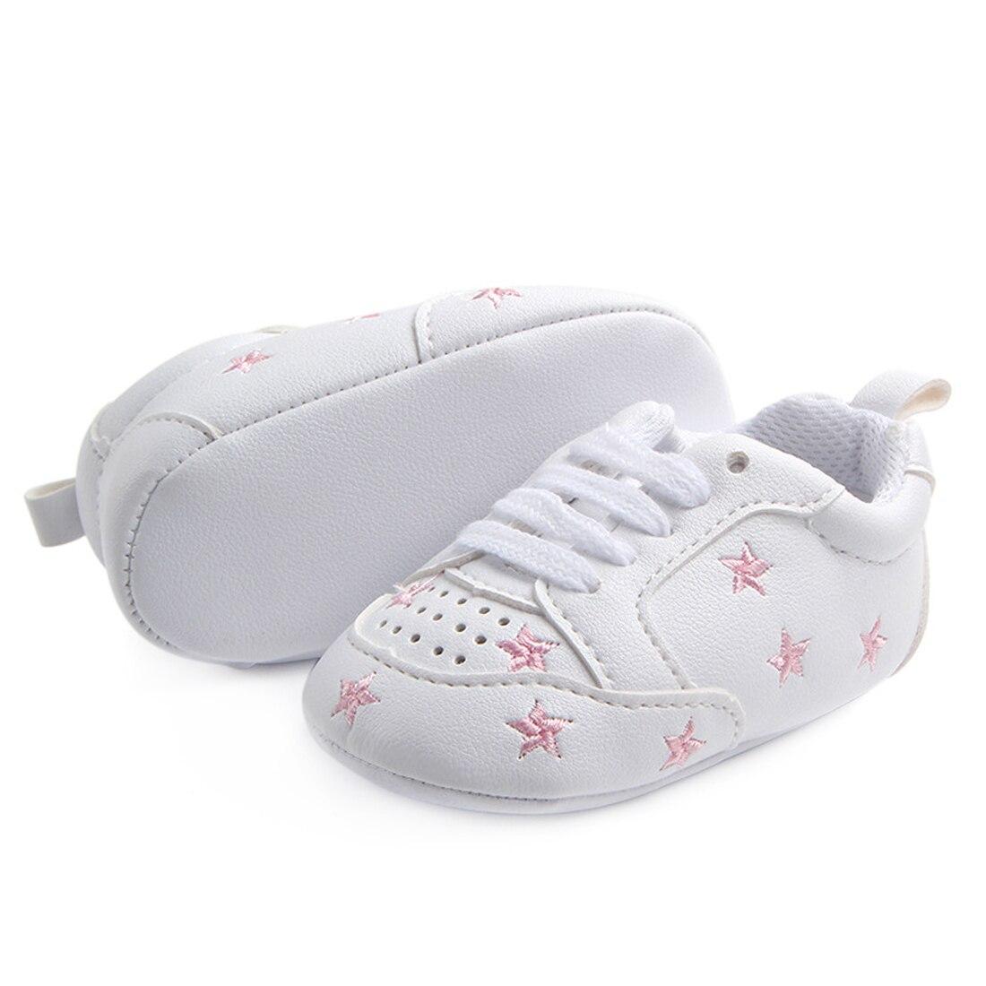 Baby Crib Shoes for Boys Miękka podeszwa PU Leather Mokasyny Girl - Buty dziecięce - Zdjęcie 6