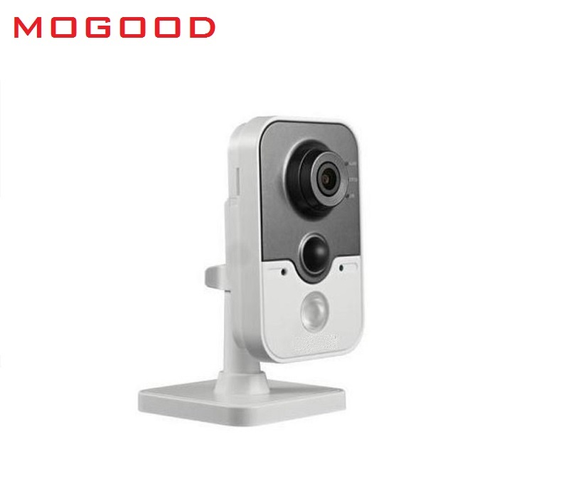 HIKVISION DS-2CD2422F-IW English Version 1080P/2MP Mini IP Cube Camera CCTV Camera Support EZVIZ Wifi PoE Baby Care Camera цена 2017