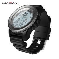 MAFAM S968 GPS Outdoor Spprts Heart Rate Tracker IP68 Waterproof 1 32 Inch Speed Measurement Thermometer
