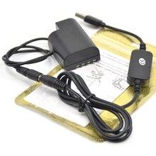 Мощность Зарядное устройство usb кабель+ DMW-BLF19 аккумуляторной батареей DMW-DCC12 Переходник постоянного тока для Lumix DMC-GH3 DMC-GH4 DMC-GH5 DMC-GH5s GH3 GH4 GH5 GH5s