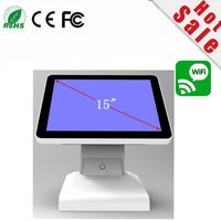 New Stock I5 4500 15 Inch Capacitive Touch Screen All In One POS Terminal With