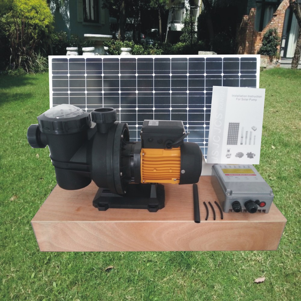2 Years Warranty 370w Solar Powered Swimming Pool Pump