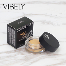 4 Colors Concealer Cream Face Foundation Cream Concealer Makeup Hide Blemish Face Eye Lip Creamy Concealer
