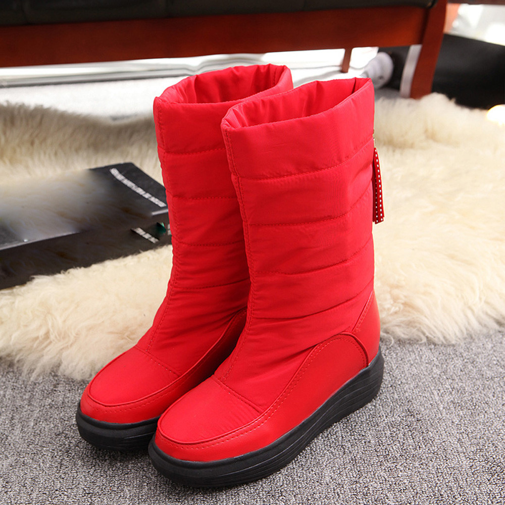 Winter Warm Snow Boots Cotton Shoes Flat Heels Knee High Boots Women Boots wholesale high quality winter warm snow boots cotton shoes flat heels knee high boots women boots wholesale high quality