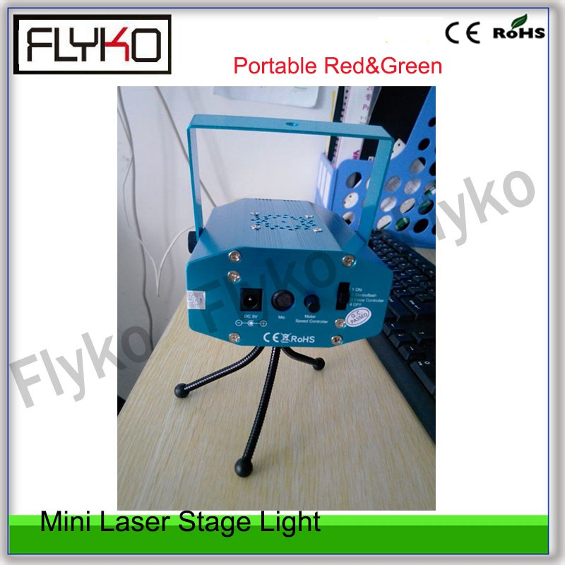 Free shipping mini portable Red&Green Laser Stage Lighting speed adjustment music stage lightFree shipping mini portable Red&Green Laser Stage Lighting speed adjustment music stage light