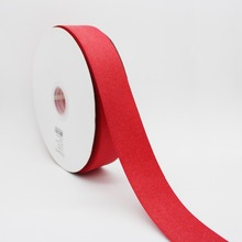 Red Color Gold Purl Twill Ribbon 1-1/2 38mm Handmade Wedding DIY Crafts Tape