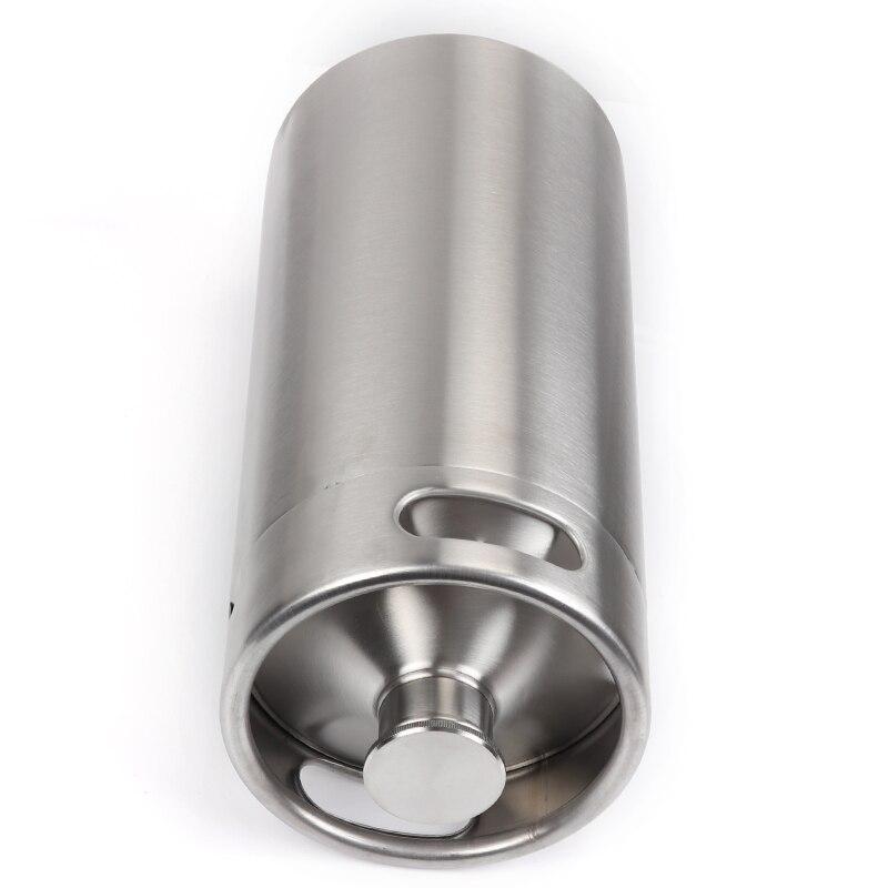 Stainless Steel 304 10L Mini Beer Keg Growler Wine Pot Unbreakable Home Brewing Beer Making Bar Tool Pakistan