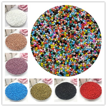 New 2mm 1000pcs Crystal Spacer Czech Glass Seed Beads For Jewelry Making Earring Necklace Bracelet Charms DIY Beads стоимость