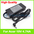 19 В 4.74A 90 Вт ноутбук зарядное устройство ac адаптер питания для Acer TravelMate 5735 Г 5735Z 5740 Г 5740TG 5740Z 5742 Г 5742Z 5744 Г 5744Z 5760 Г