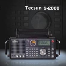 Original TECSUN S-2000 Amateur HAM Radio SSB Dual Conversion PLL FM/MW/SW/LW Banda Aérea Maneja Casa de Radio Radio portátil Estéreo