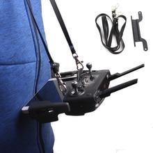 Mavic Ar Drone DJI Controle Remoto Dual-Fivela gancho Suporte de Montagem + Correia de Pescoço para DJI Faísca/DJI mavic Pro/Platina
