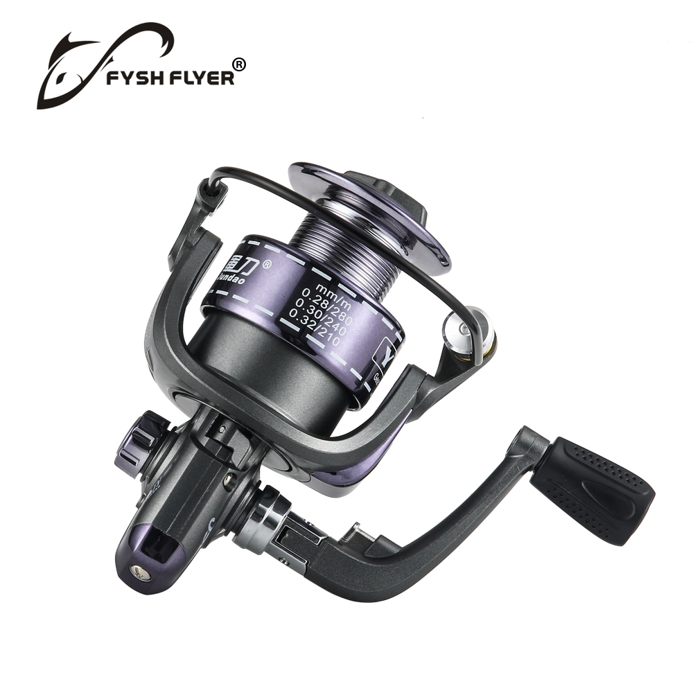 Fishing Professional Spinning Reel; 5 BB;  Non-slip Knob; Two Colour Available, Front Drag System, Free Shipping