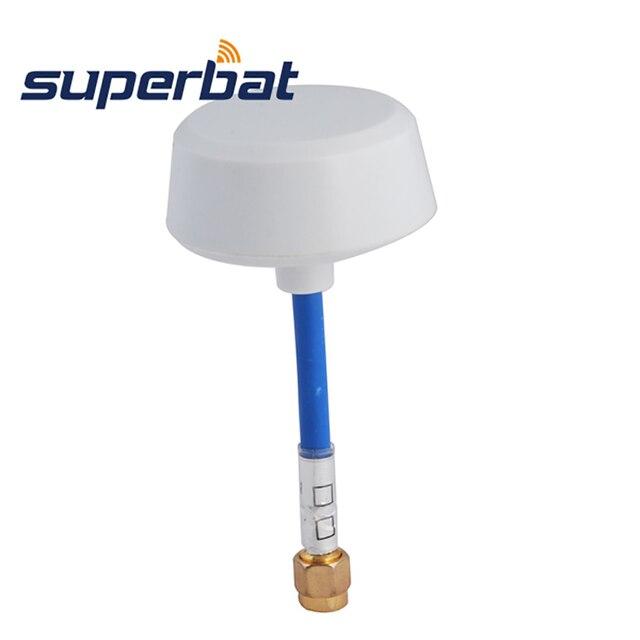 Superbat WiFi אנטנת Omni ממדים 2.4 GHz/5.8 Ghz 3dBi Dual Band RP-SMA בוסטרים עבור 802.11a.b.g.n ציוד אווירי FPV