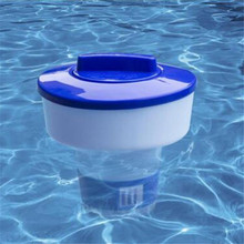 8 Inch Box Durable Floating Chlorine Chemical Dispenser For Spa Swimming Pool Active Drug Automatic External Controller Device