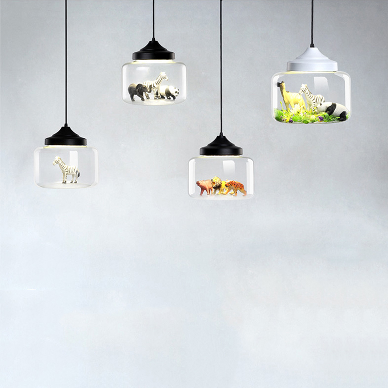 Modern glass Pendant light restaurant bar cafe creative animal models decorative suspension lamp dining room child room lighting brokis design replica lighting shadows lamp modern glass pendant light bedroom sitting room restaurant cafe bar suspension