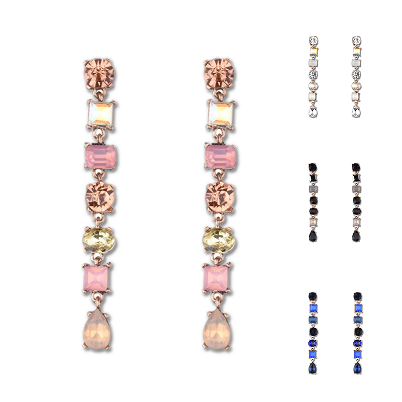 LNRRABC 2019new shiny <font><b>sexy</b></font> fashion color <font><b>long</b></font> <font><b>earrings</b></font> can be used as a wedding party gift elegant allergy hot sale wholesale image