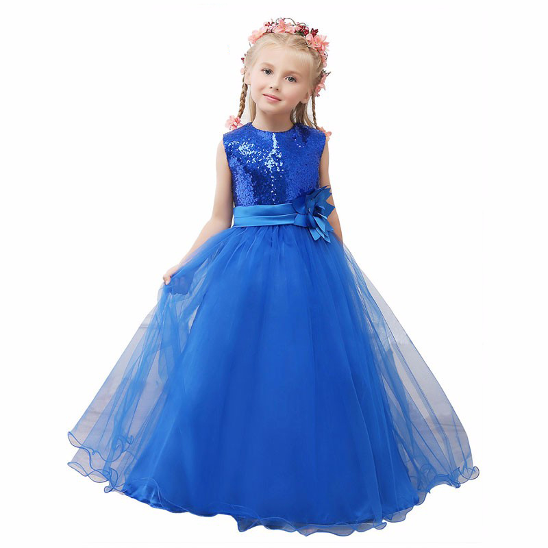 Popular Blue Sparkly Dresses for Kids-Buy Cheap Blue Sparkly ...